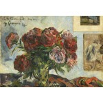 Puzzle  Grafika-Kids-01311 Paul Gauguin : Nature Morte avec Pivoines, 1884