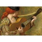 Puzzle  Grafika-Kids-01315 Auguste Renoir : Jeune Femme Espagnole avec une Guitare, 1898