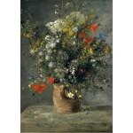 Puzzle  Grafika-Kids-01318 Auguste Renoir : Fleurs dans un Vase, 1866