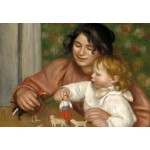 Puzzle  Grafika-Kids-01320 Auguste Renoir : Gabrielle et le Fils de l'Artiste, Jean, 1895-1896