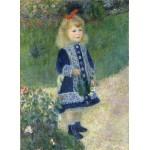 Puzzle  Grafika-Kids-01322 Auguste Renoir : Fillette à l'arrosoir, 1876