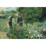 Puzzle  Grafika-Kids-01326 Auguste Renoir : Cueillette de Fleurs, 1875