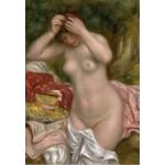 Puzzle  Grafika-Kids-01328 Auguste Renoir : Baigneuse Arrangeant Ses Cheveux, 1893