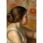 Puzzle  Grafika-Kids-01330 Auguste Renoir : Tête de Jeune Fille, 1890