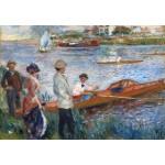 Puzzle  Grafika-Kids-01331 Auguste Renoir : Rameurs à Chatou, 1879