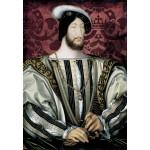 Puzzle  Grafika-Kids-01353 Jean Clouet : Portrait de François Ier, roi de France, 1530