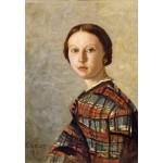 Puzzle  Grafika-Kids-01356 Jean-Baptiste-Camille Corot : Portrait de Jeune Fille, 1859