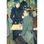 Puzzle  Grafika-Kids-01360 Henri de Toulouse-Lautrec : Au Moulin de la Galette, 1892