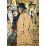 Puzzle  Grafika-Kids-01361 Henri de Toulouse-Lautrec : Alfred la Guigne, 1894