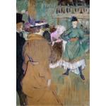 Puzzle  Grafika-Kids-01365 Henri de Toulouse-Lautrec : Quadrille au Moulin Rouge, 1892