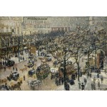 Puzzle  Grafika-Kids-01367 Camille Pissarro : Boulevard des Italiens Soleil du Matin, 1897