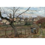 Puzzle  Grafika-Kids-01376 Camille Pissarro : La Barrière, 1872