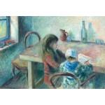 Puzzle  Grafika-Kids-01378 Camille Pissarro : Les Enfants, 1880