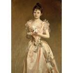 Puzzle  Grafika-Kids-01386 John Singer Sargent : Miss Grace Woodhouse, 1890
