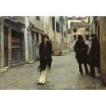 Puzzle  Grafika-Kids-01390 John Singer Sargent : Rue à Venise, 1882