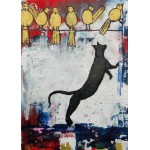 Puzzle  Grafika-Kids-01401 Jeux de Chat
