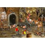 Puzzle  Grafika-Kids-01431 Pièces XXL - François Ruyer : Oubliettes