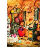 Puzzle  Grafika-Kids-01454 François Ruyer - Sorcière
