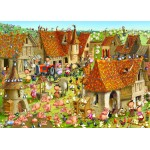 Puzzle  Grafika-Kids-01465 François Ruyer - Ferme