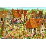 Puzzle  Grafika-Kids-01466 Pièces XXL - François Ruyer - Ferme