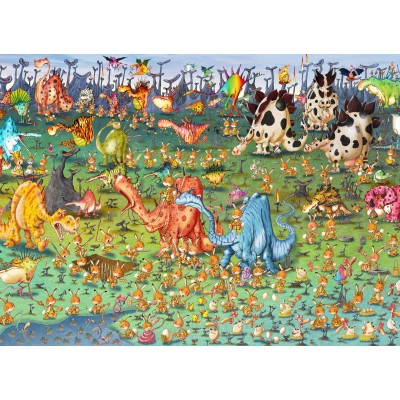 Puzzle Grafika-Kids-01467 François Ruyer - Dinosaures