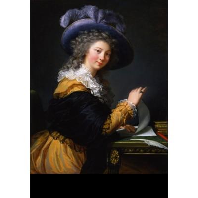 Puzzle Grafika-Kids-01485 Louise-Élisabeth Vigee le Brun : Comtesse de Cérès, 1784