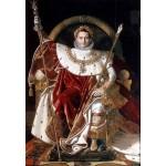 Puzzle  Grafika-Kids-01507 Jean-Auguste-Dominique Ingres : Napoléon sur le trône impérial, 1806