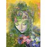 Puzzle  Grafika-Kids-01555 Josephine Wall - Head Gardener