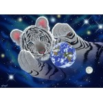 Puzzle  Grafika-Kids-01628 Pièces magnétiques - Schim Schimmel - A Hug For Mother