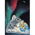 Puzzle  Grafika-Kids-01644 Pièces magnétiques - Schim Schimmel - Earth Light