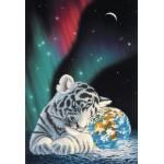 Puzzle  Grafika-Kids-01646 Pièces XXL - Schim Schimmel - Earth Light