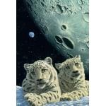 Puzzle  Grafika-Kids-01669 Pièces XXL - Schim Schimmel - Lair of the Snow Leopard