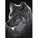 Puzzle  Grafika-Kids-01702 Pièces magnétiques - Schim Schimmel - Night Wolf