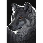 Puzzle  Grafika-Kids-01704 Pièces XXL - Schim Schimmel - Night Wolf