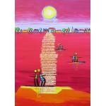 Puzzle  Grafika-Kids-01707 Pièces magnétiques - Anne Poiré et Patrick Guallino - Aube Rubis