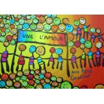 Puzzle  Grafika-Kids-01712 Pièces magnétiques - Anne Poiré & Patrick Guallino - Vive l'Amour