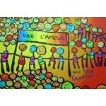 Puzzle  Grafika-Kids-01714 Pièces XXL - Anne Poiré & Patrick Guallino - Vive l'Amour