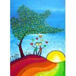 Puzzle  Grafika-Kids-01715 Anne Poiré & Patrick Guallino - Signes et Sillons de Bonheur