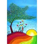 Puzzle  Grafika-Kids-01719 Pièces XXL - Anne Poiré & Patrick Guallino - Signes et Sillons de Bonheur