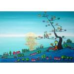 Puzzle  Grafika-Kids-01721 Anne Poiré & Patrick Guallino - Soleil sur Livres