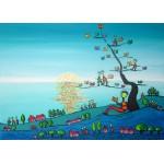 Puzzle  Grafika-Kids-01722 Pièces magnétiques - Anne Poiré & Patrick Guallino - Soleil sur Livres