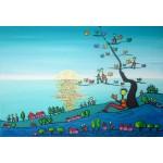 Puzzle  Grafika-Kids-01724 Pièces XXL - Anne Poiré & Patrick Guallino - Soleil sur Livres