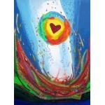 Puzzle  Grafika-Kids-01725 Anne Poiré & Patrick Guallino - Quand le Coeur bat