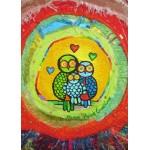 Puzzle  Grafika-Kids-01743 Anne Poiré & Patrick Guallino - Le Nid Porte-bonheur