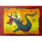 Puzzle  Grafika-Kids-01747 Pièces magnétiques - Anne Poiré & Patrick Guallino - Dragon Talisman