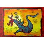 Puzzle  Grafika-Kids-01749 Pièces XXL - Anne Poiré & Patrick Guallino - Dragon Talisman