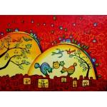 Puzzle  Grafika-Kids-01752 Pièces magnétiques - Anne Poiré & Patrick Guallino - Confidences