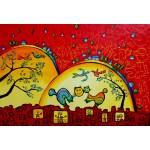 Puzzle  Grafika-Kids-01754 Pièces XXL - Anne Poiré & Patrick Guallino - Confidences