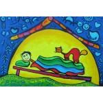 Puzzle  Grafika-Kids-01763 Pièces XXL - Anne Poiré & Patrick Guallino - Complices