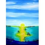 Puzzle  Grafika-Kids-01764 Anne Poiré & Patrick Guallino - Aube d'Aigue-marine